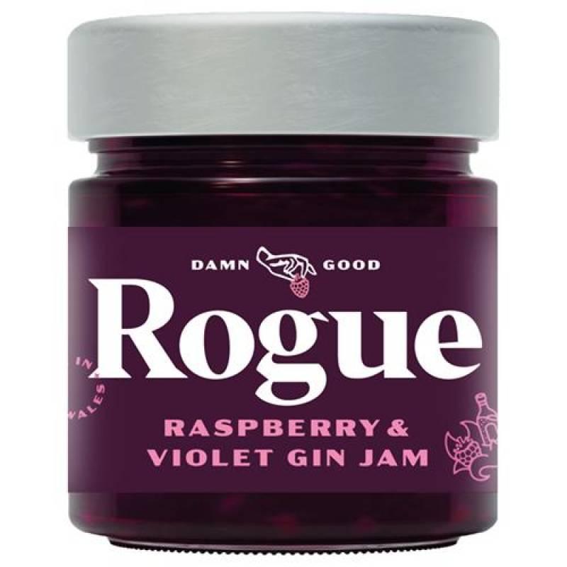 Rogue Raspberry & Violet Gin Jam 280g