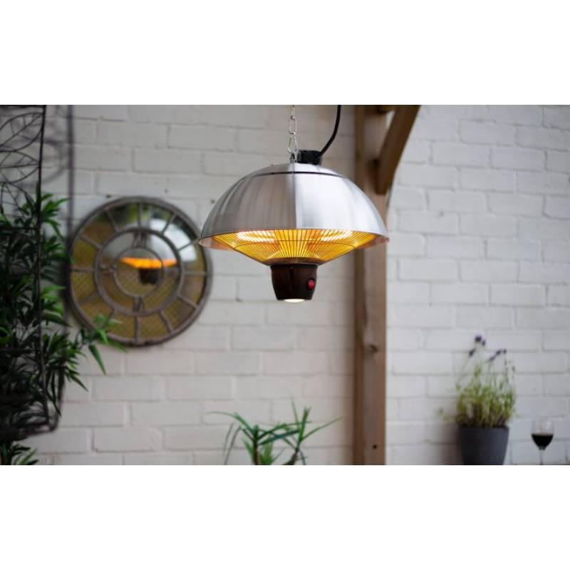 Hanging Mushroom Heater Silver (Coming Soon)