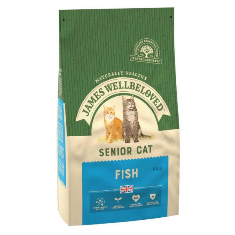 Cat Senior Fish Food 1.5kg