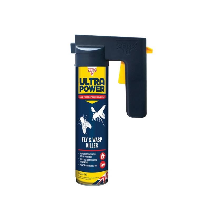 Fly & Wasp Killer - 600ml Trigger Aerosol