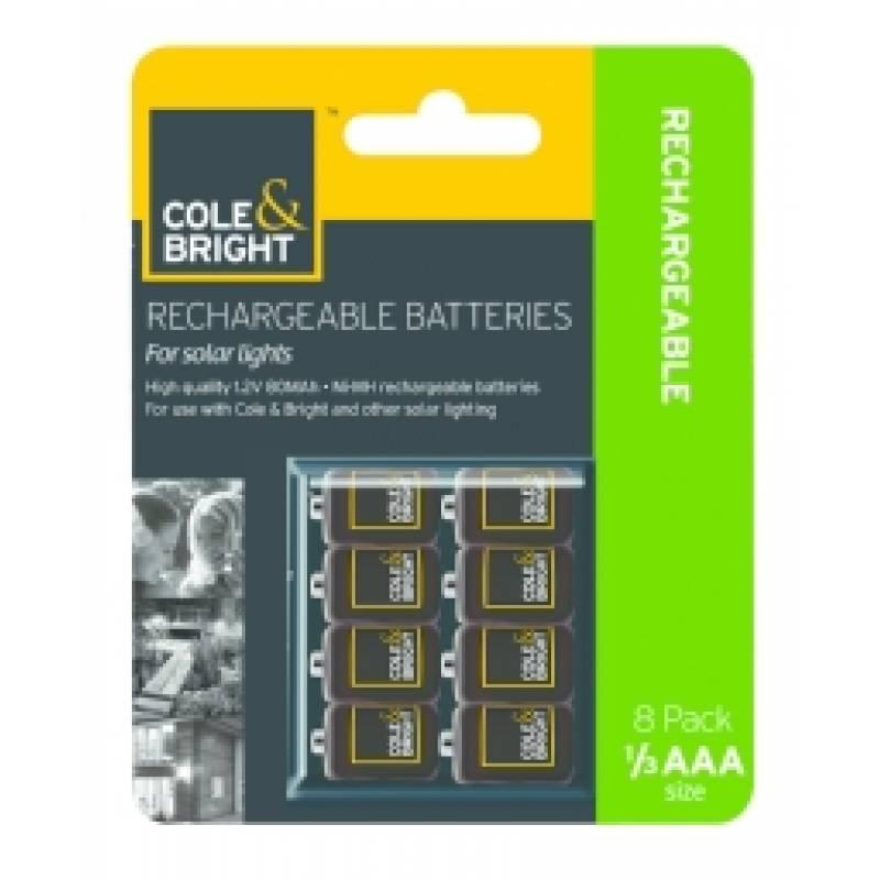 AAA Recharge Batteries 8pk