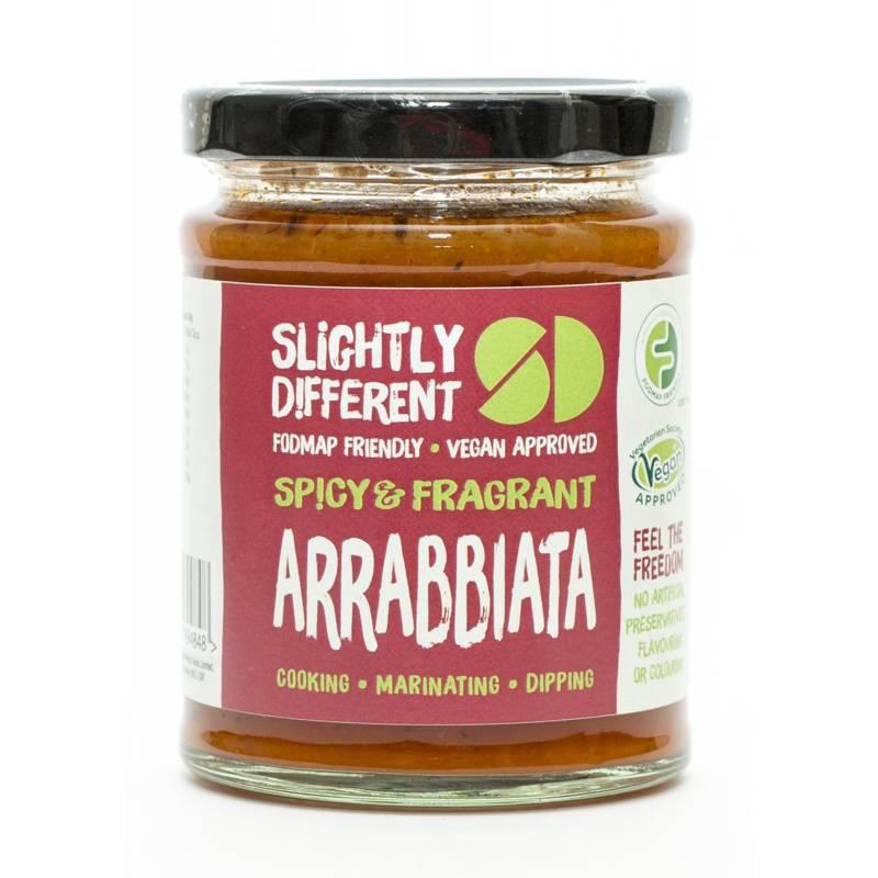 Slightly Different Arrabbiata Sauce