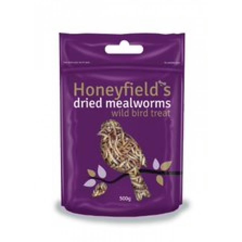 Honeyfields Dried Mealworm 500gm
