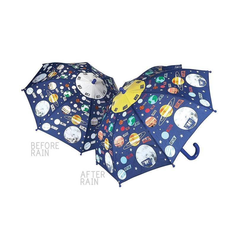Colour Changing Umbrella Universe