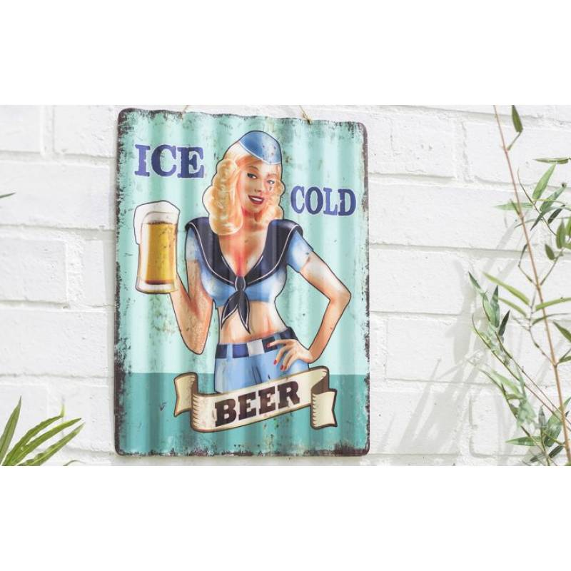 Corrugated Ice Cold Beer Sign (Coming Soon)