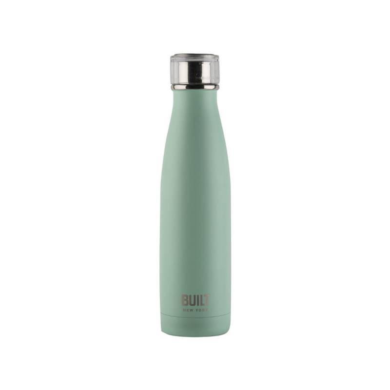 Built 500ml Double Walled Stainless Steel Water Bottle Mint