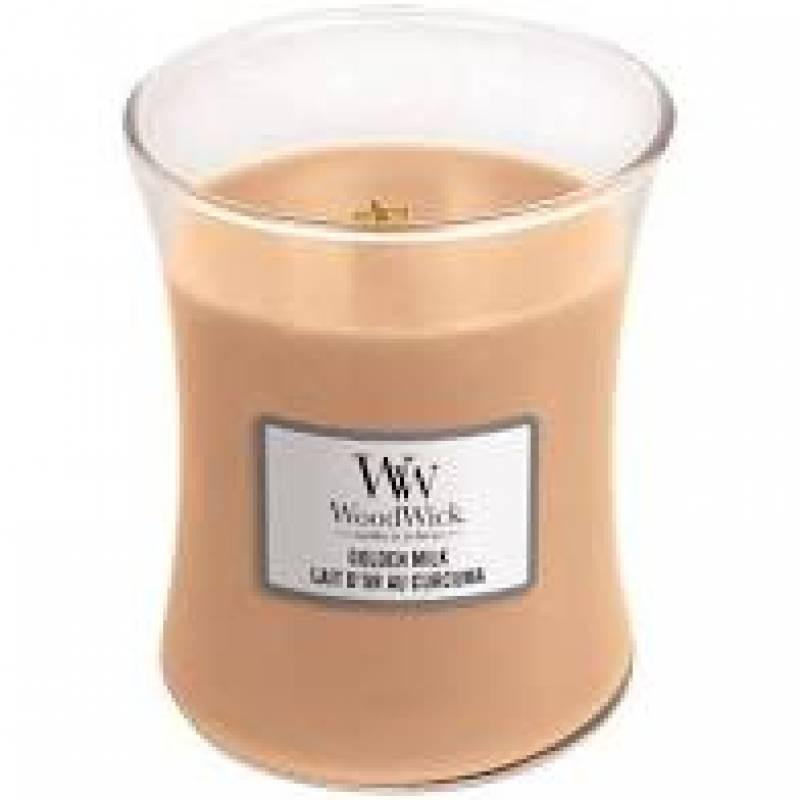 Woodwick MEDIUM JAR GOLDEN MILK