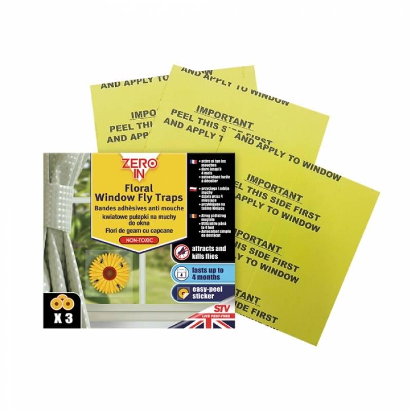 Window Fly Sticker - 3 pack