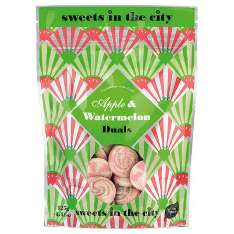 Sweets In The City Apple & Watermelon Duals 125g
