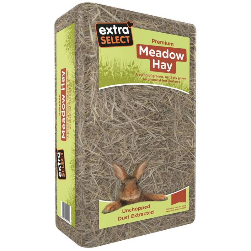 Extra Select Compressed Meadow Hay Small