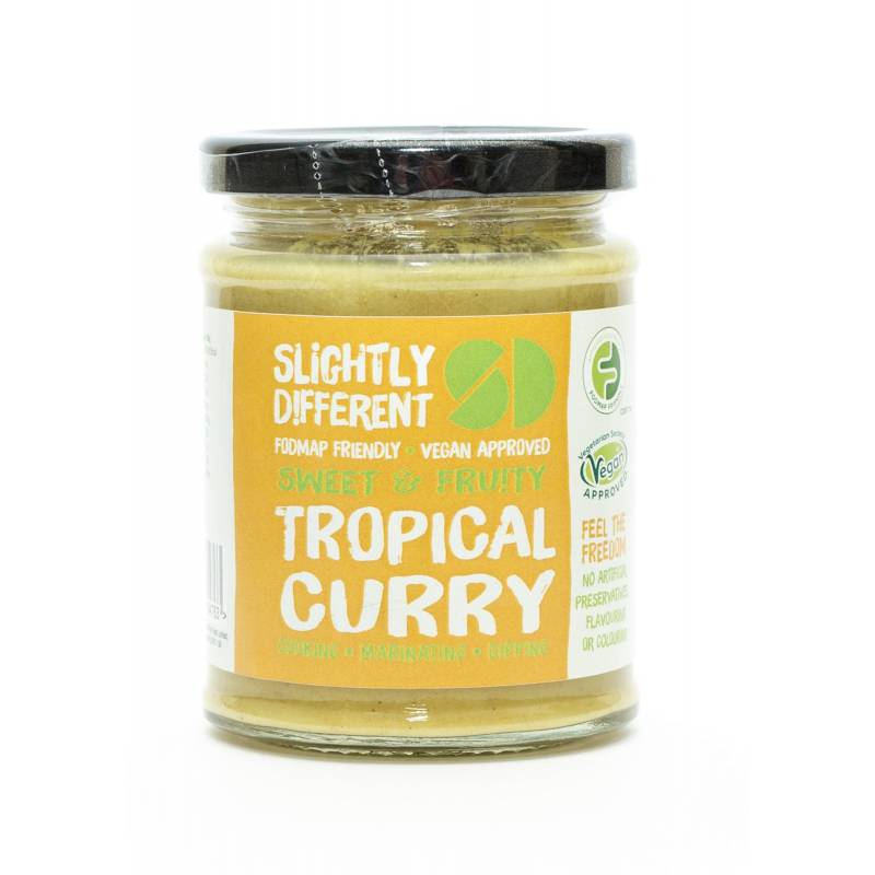 Slightly Different Tropical Curry Sauce