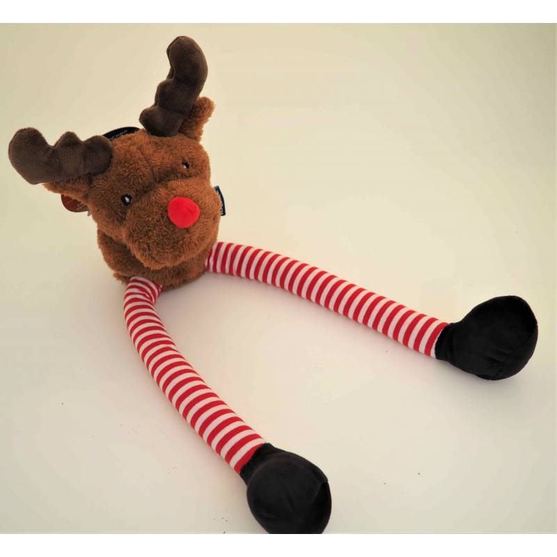 Ancol Leggy Reindeer Squeaky Dog Toy