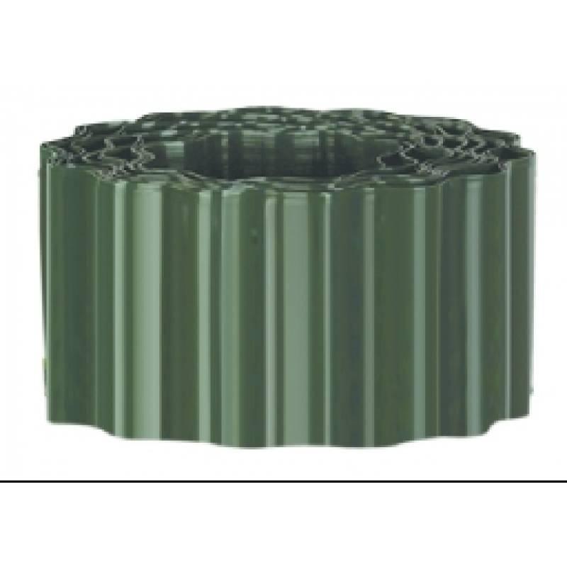 0.09m x 9.1m Durable Plastic Lawn Edging