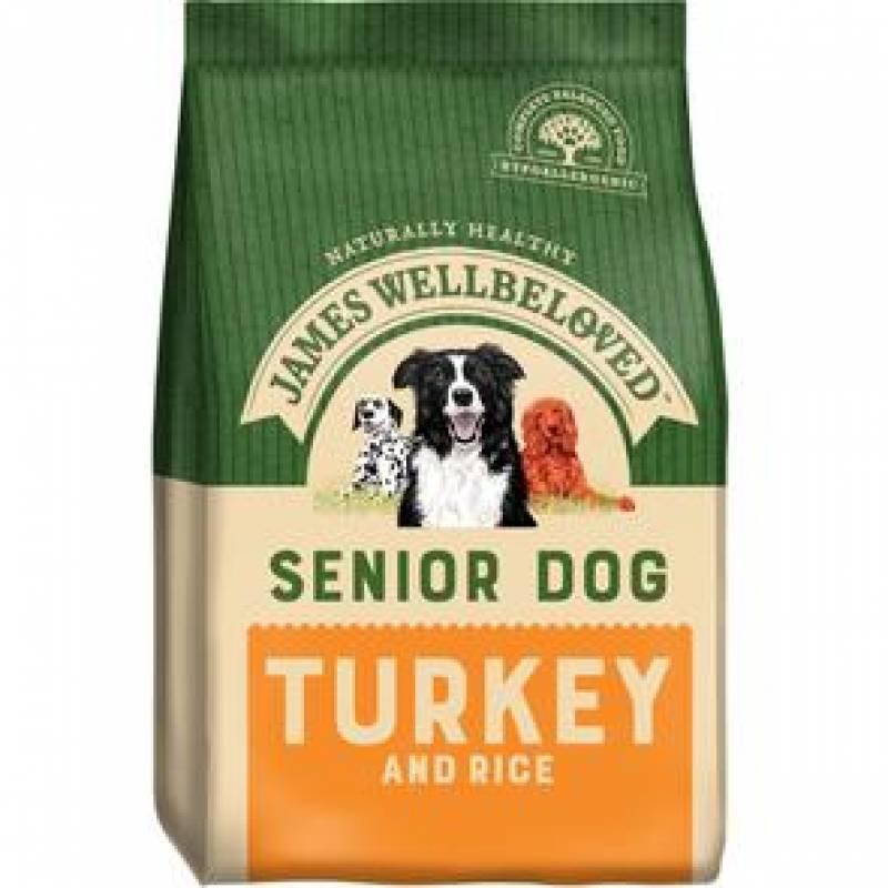 Senior Turkey and Rice 2KG