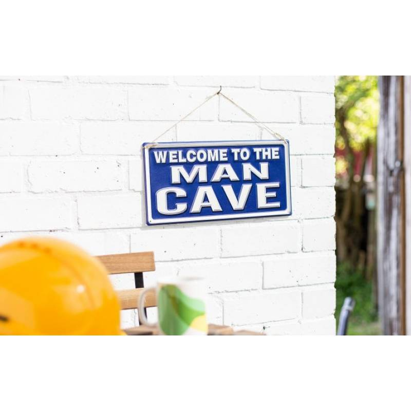 Welcome To The Man Cave Sign (Coming Soon)