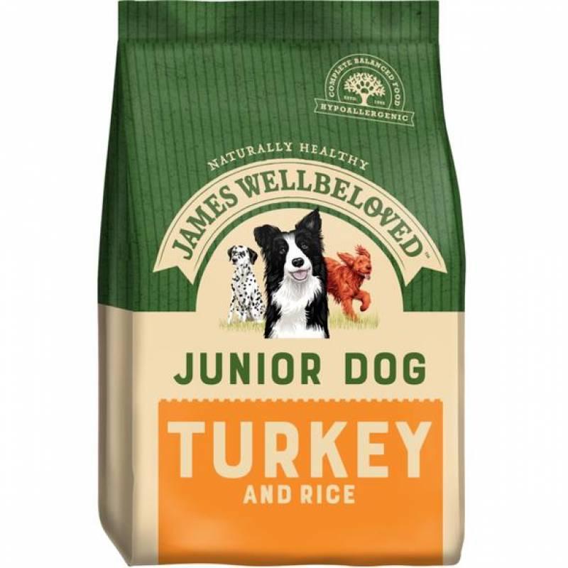 Dog Junior Turkey and Rice Food 1.5KG
