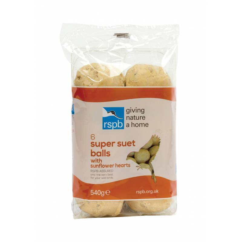 High Energy Fat Balls with Sunflower Hearts (6pk)