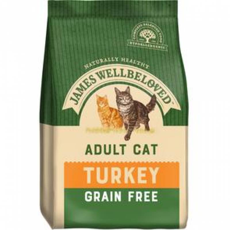 Cat Turkey Food 1.5kg no Grains