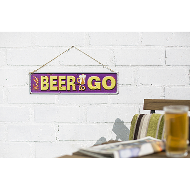 Beer To Go Sign (Coming Soon)