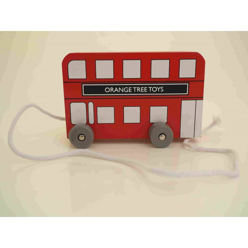London Bus Pull Along