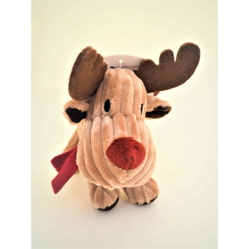Petface Reindeer Cord Squeaky  Dog Toy