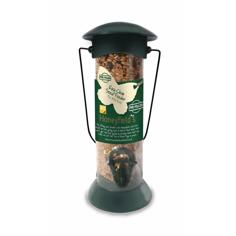 Prefilled Honeyfields Easy Fill & Clean Seed Feeder