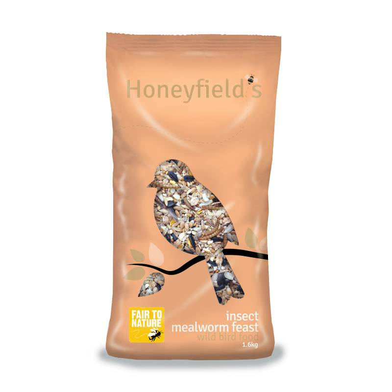 Honeyfields Insect Mealworm bird food 1.6kg