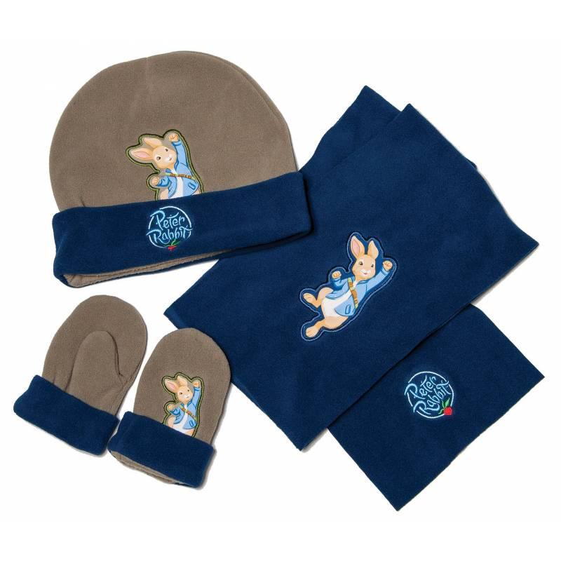 Peter Rabbit Hat Glove Scarf Set