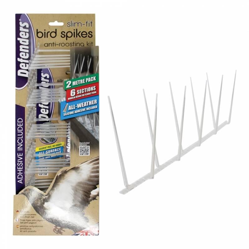 Slim Fit Bird Spikes - 2 Metre Pack