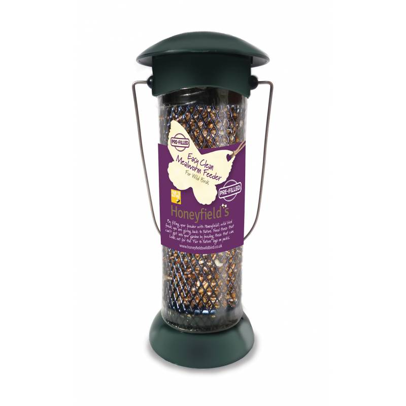 Prefilled  Easy Fill & Clean Mealworm Feeder