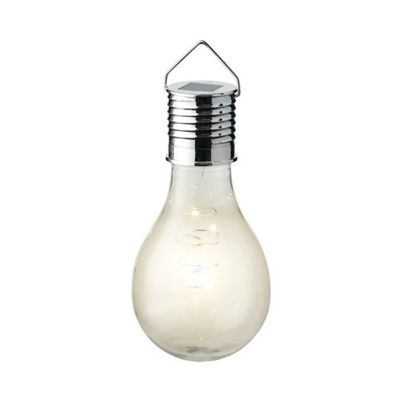 Solar garden light plastic