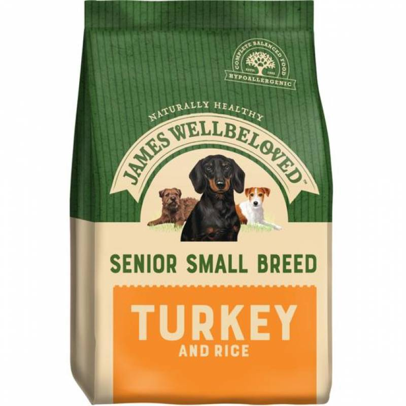 Dog Small Breed Turkey and Rice 1.5kg