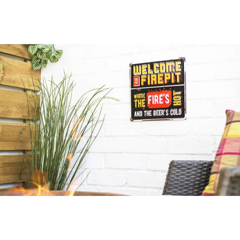 Welcome To Firepit Sign (Coming Soon)