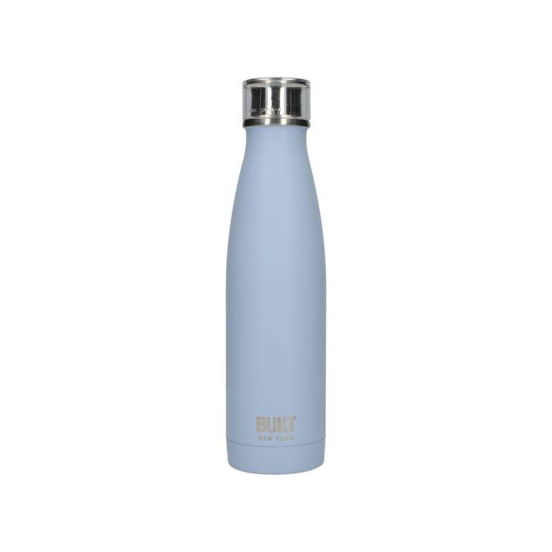 Built 500ml Double Walled Stainless Steel Water Bottle Arctic Blue