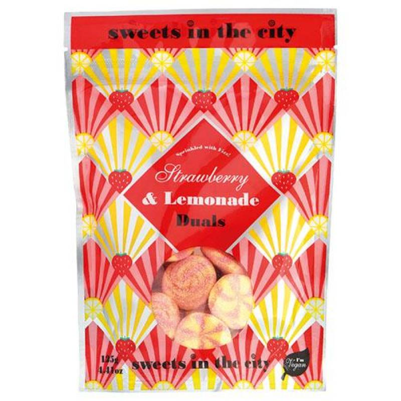 Sweets in the City Strawberry & Lemonade Duals 125g
