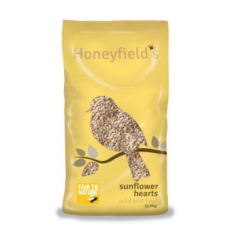 Honeyfields Sunflower Hearts 12.6kg