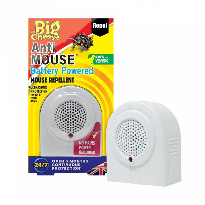 Anti Mouse Battery Powered Mouse Repellent 1pk