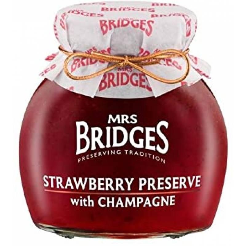 Mrs Bridges Strawberry with Champagne Preserve