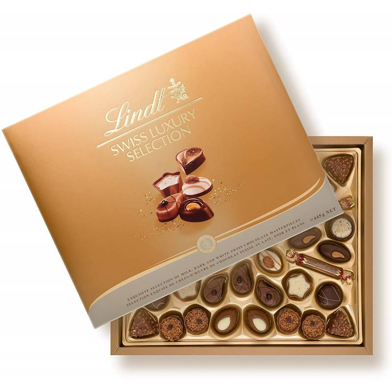 Lindt Chocolate Swiss Luxury Selection Box 450g