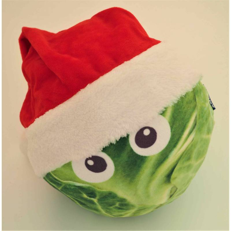Giant Sprout O Claus Soft Dog Toy