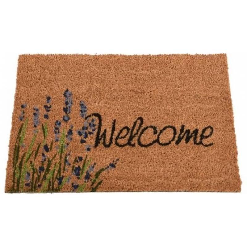 mat coir welcome outdoor