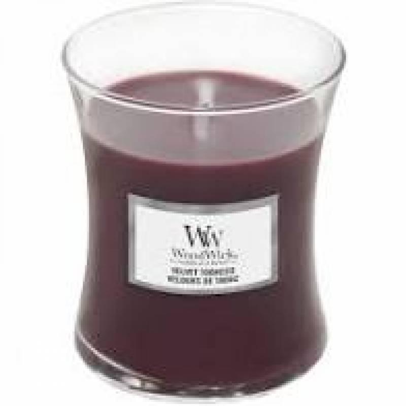 Woodwick Medium Hourglass VELVET TOBACCO