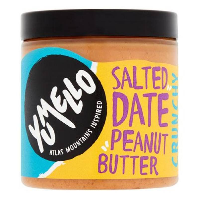 Yumello Crunchy Salted Date Peanut Butter 250g
