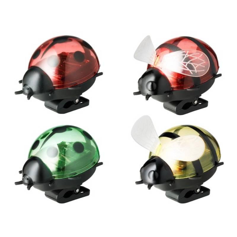 Solar figurines ladybug