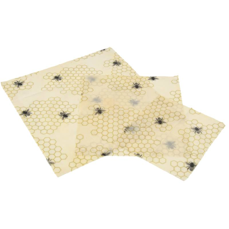Beeswax Wraps (pack of 3)