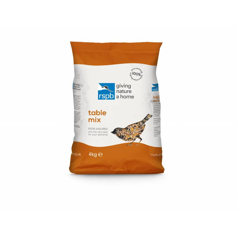 RSPB Table Seed Mix 4Kg