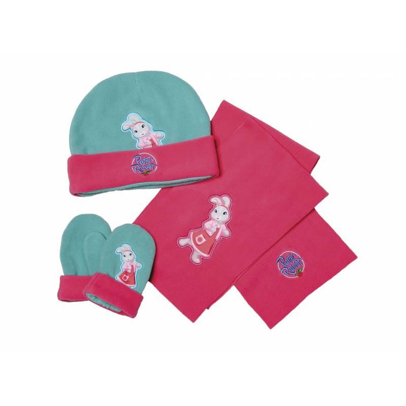 Lily Bobtail Hat Glove & Scarf Set