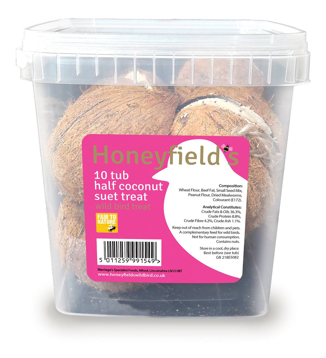 Honeyfields CoCo Treats 10 pack