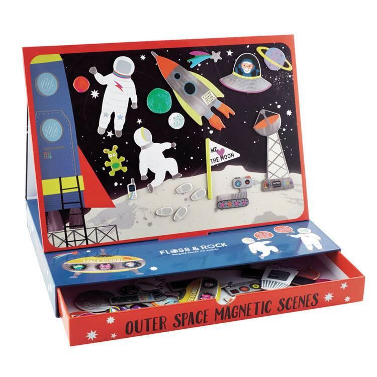 Magnetic Space Scene