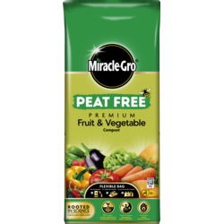 Miracle-Gro Fruit and Veg Peat Free 40L